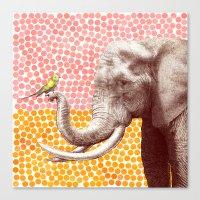 New Friends 2 by Eric Fan & Garima Dhawan Canvas Print
