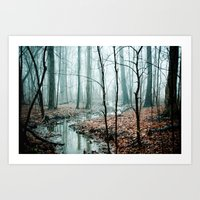 forest Art Prints featuring Gather up Your Dreams by Olivia Joy StClaire