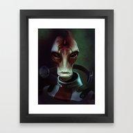 Mass Effect: Mordin Solu… Framed Art Print