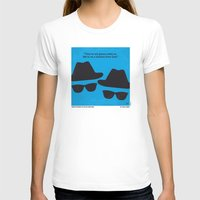 No012 My Blues Brothers … Womens Fitted Tee White SMALL