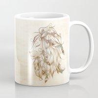 Poetic Lion  Mug