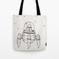 Invasor Malvado Tote Bag
