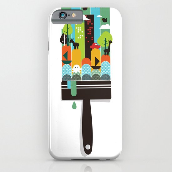 Paint your world iPhone & iPod Case