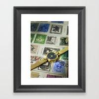 Oscar De La Renta Color Framed Art Print