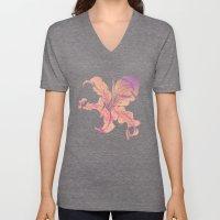 lilies Unisex V-Neck