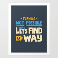Find a Way Art Print