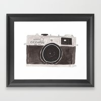 My Camera, Your Camera Framed Art Print