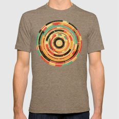 Space Odyssey Mens Fitted Tee Tri-Coffee SMALL