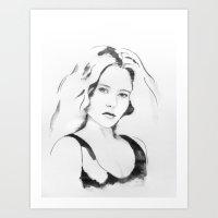 portret N89 Art Print