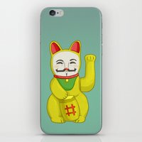 Occupy Lucky Cat iPhone & iPod Skin