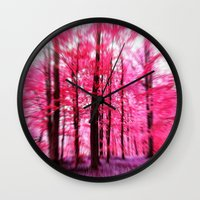 Dreaming away... altered photography Wall Clock