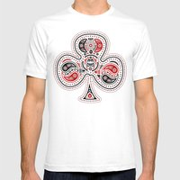 83 Drops - Clubs (Red & … Mens Fitted Tee White SMALL