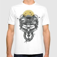 The Count Bifrons Mens Fitted Tee White SMALL