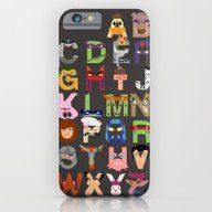iPhone & iPod Case featuring TMNT ABCs by Mike Boon