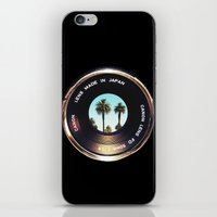 focus on palms iPhone & iPod Skin