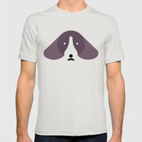 Pedigree: Dachshund Mens Fitted Tee Silver SMALL