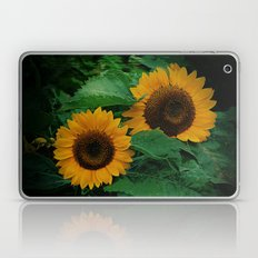 Sonnen Blumen  Laptop & iPad Skin