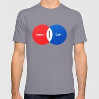 Vend Diagram Mens Fitted Tee Slate SMALL