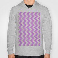 Crazy for Chevron - Lilac Hoody