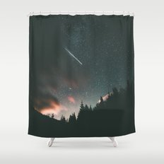 Stars II Shower Curtain