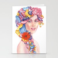 Goddess : Flora Stationery Cards