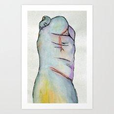 Macrodactyly Art Print