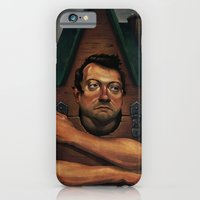 iPhone & iPod Case featuring Agoriphobia by Nick Sadek Illustration