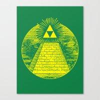 Masonic Link  Canvas Print
