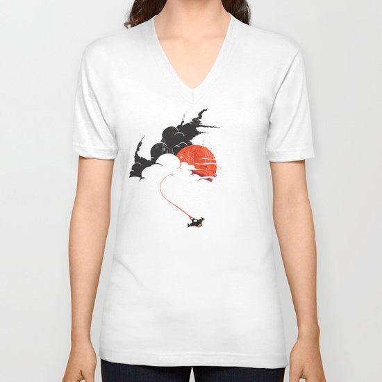 Uncharted Voyage V-neck T-shirt