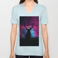Deer Galaxy Unisex V-Neck