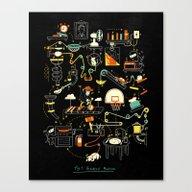 Breakfast Machine Canvas Print