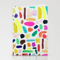 Colorful Blobs Stationery Cards