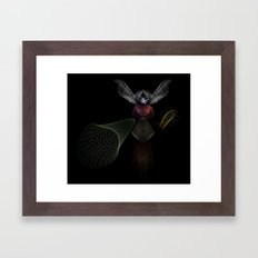 An Invisible Thread Framed Art Print