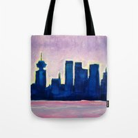 Sundown Vancouver Tote Bag