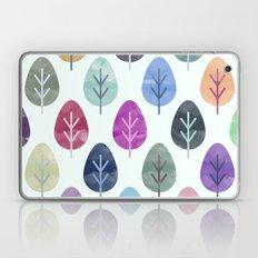 Watercolor Forest Pattern  Laptop & iPad Skin