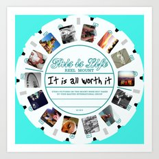 This Is Life - Viewmaster Art Print