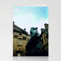 Horse Statue Stationery Cards