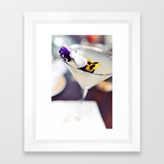 Martini Framed Art Print