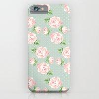 Vintage Roses Pattern iPhone 6 Slim Case