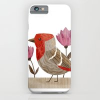 iPhone & iPod Case featuring House Finch by Stephanie Fizer Coleman