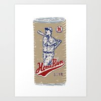 Home Run Lite Art Print