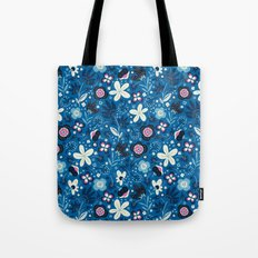 Blue Meadow Tote Bag