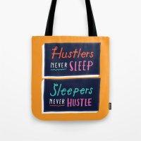 Never Sleep Tote Bag