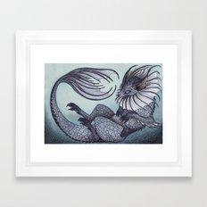 the Water Type Framed Art Print