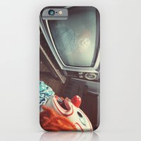 iPhone & iPod Case featuring Clown Broadkast by Shaun Lowe