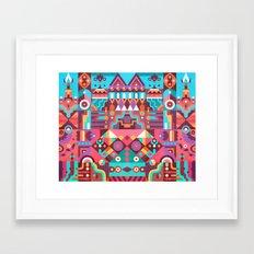Schema 9 Framed Art Print