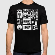 It's A Game Dev World Mens Fitted Tee Black SMALL
