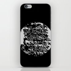Nobody owns the sky iPhone & iPod Skin