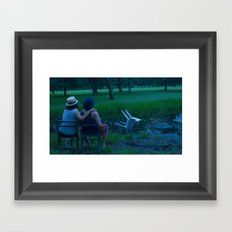 Afternoon by the pond  from the series