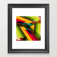 Field of Colors Framed Art Print